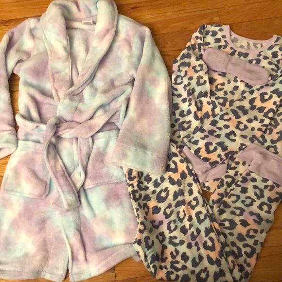 4 Piece Pajama Set, Girls 7/8